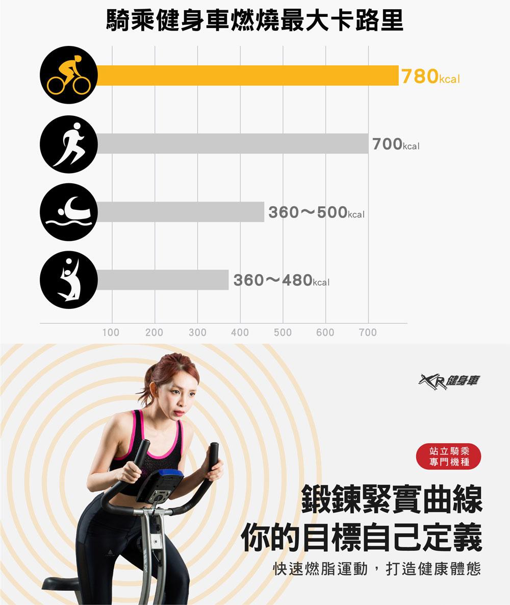 XR-SPIN競速飛輪健身車